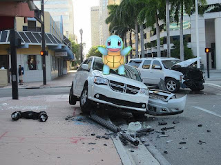 Pokemon, car insurance, Pokemon accident