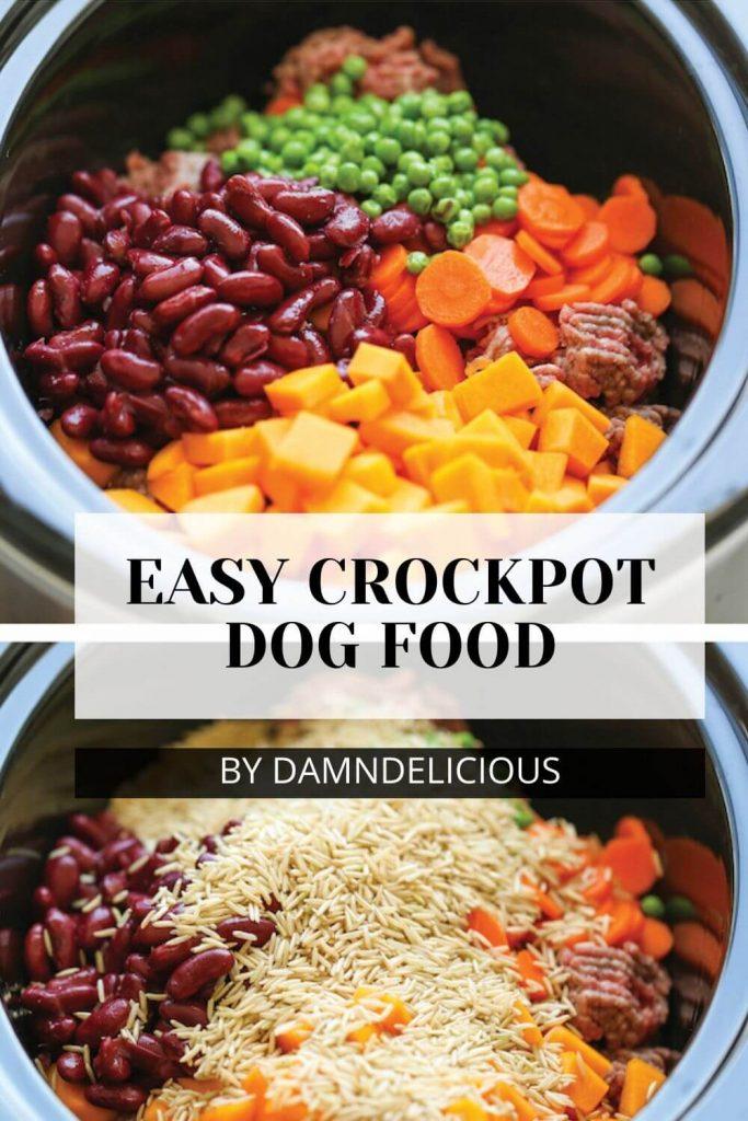 Easy Crockpot Dog Food