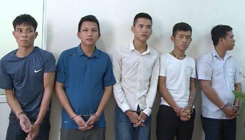 5 đối tượng bị bắt