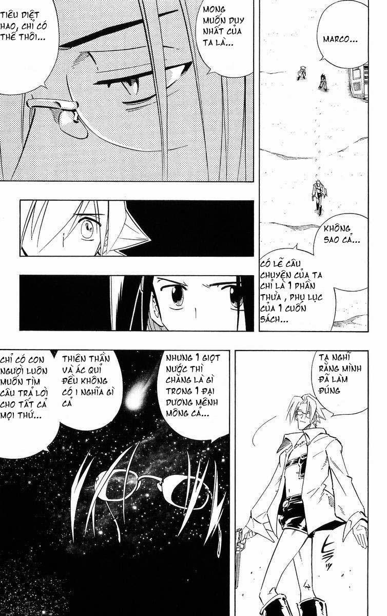 Shaman King [Vua pháp thuật] chap 218 trang 8