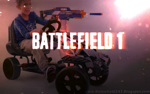 Battlefield Nerftrain or perhaps should it be Battelfield Nerfwagon?