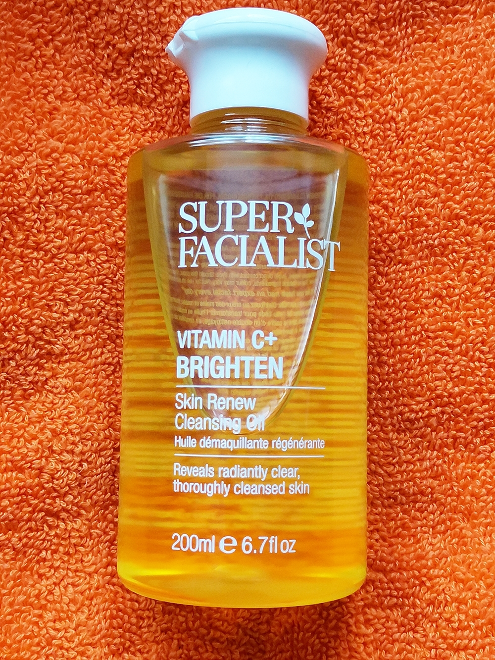 vitamin c cleansing oil
