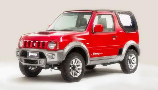 2017 Suzuki Jimny Specs, Release Date