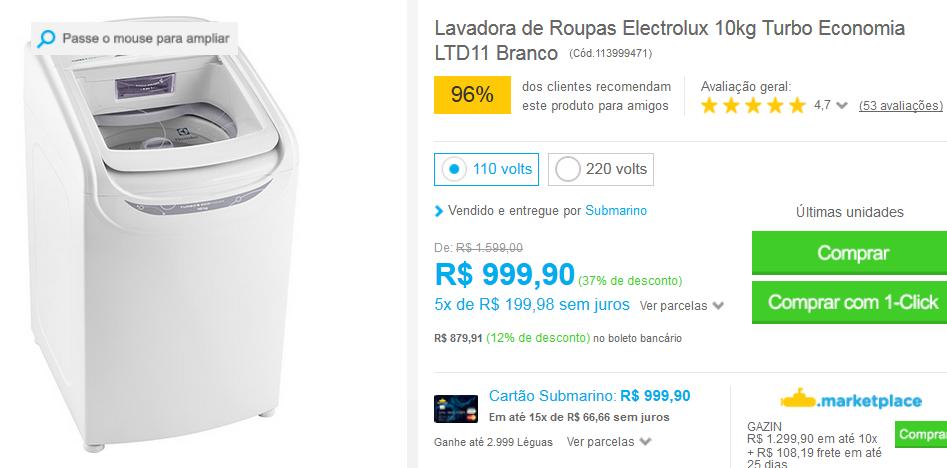www.submarino.com.br/produto/113999471/lavadora-de-roupas-electrolux-10kg-turbo-economia-ltd11-branco?opn=comparadoressub&franq=AFL-03-117316&loja=03