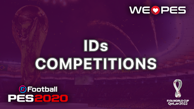 Konami ID | Competitions | PES 2020