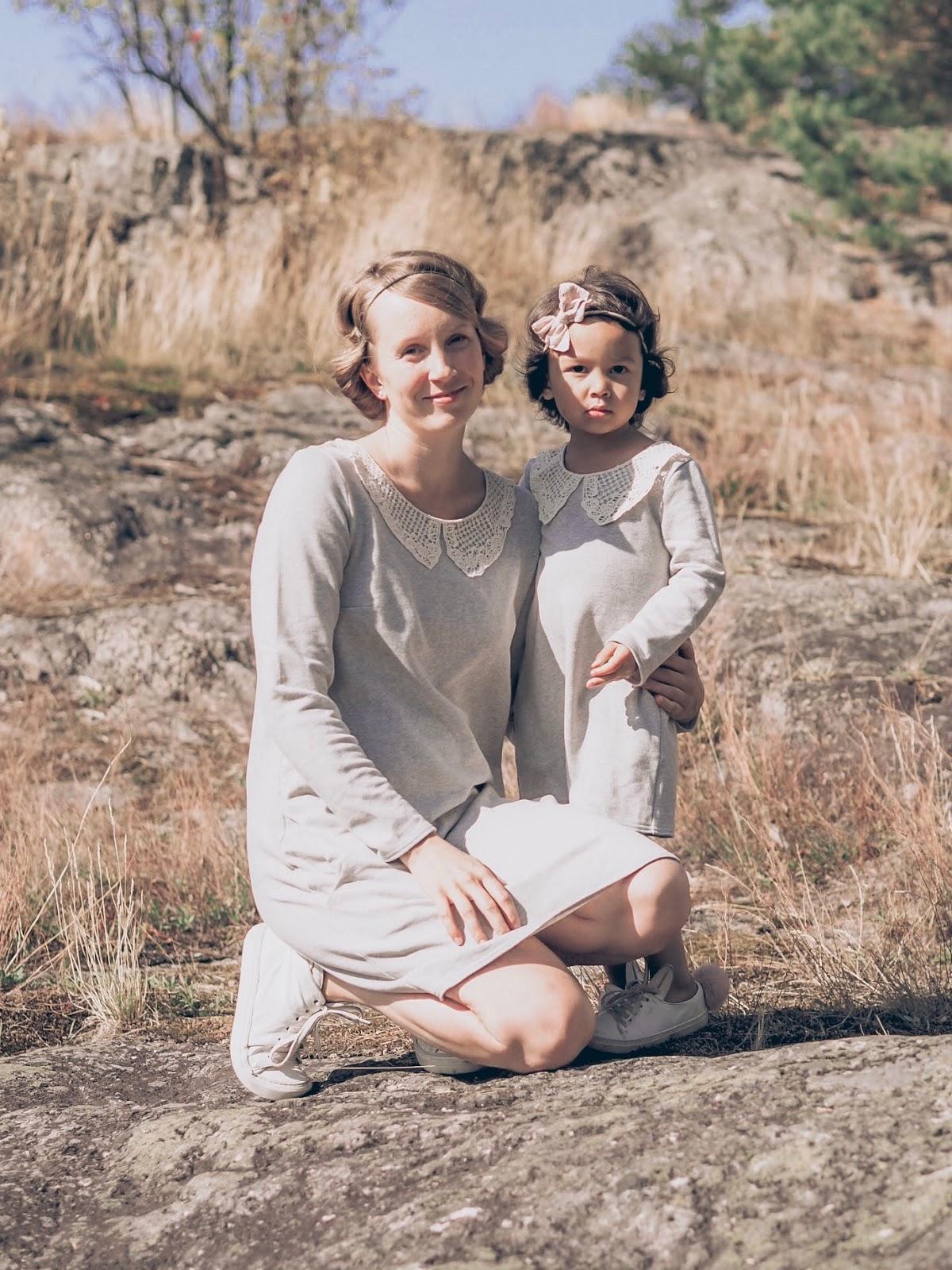 elämä kahden lapsen kanssa