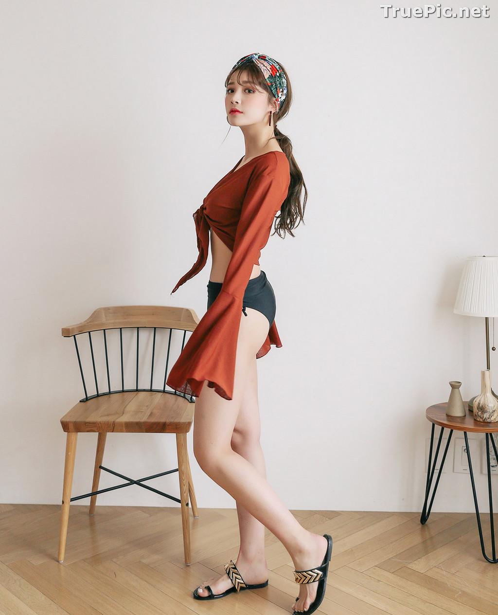 Image Korean Fashion Model - Cha Yoo Jin - Rebecca Monokini - TruePic.net - Picture-10