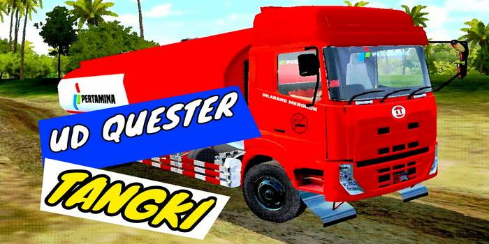 mod bussid nissan ud quester tangki