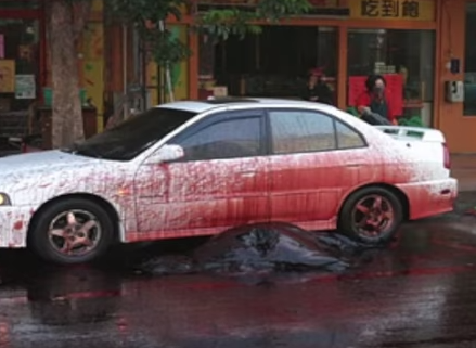 exploding whale car damage