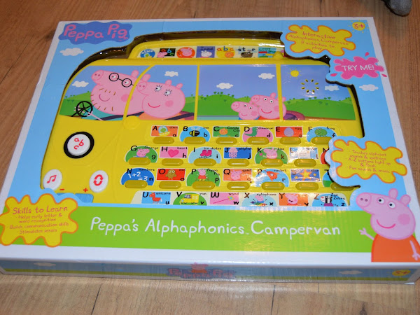 Peppa Pig's Alphaphonics Campervan Review