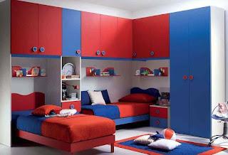 غرفة نوم اطفال اولاد