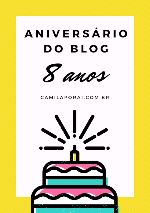 8 anos de blog