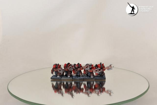 Chaos Dwarfs Infernal Guard Fireglaives Forge World