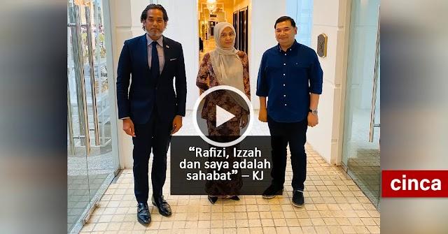 Rafizi, Izzah dan saya adalah sahabat – KJ