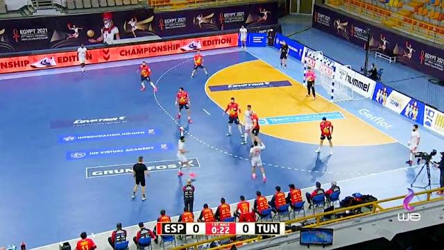 مباراة منتخب تونس ضد اسبانيا فى بطوله العالم لكرة اليد - تعرف على موعد مباراة تونس واسبانيا اليوم - بث مباشر بطولة العالم لكرة اليد اليوم