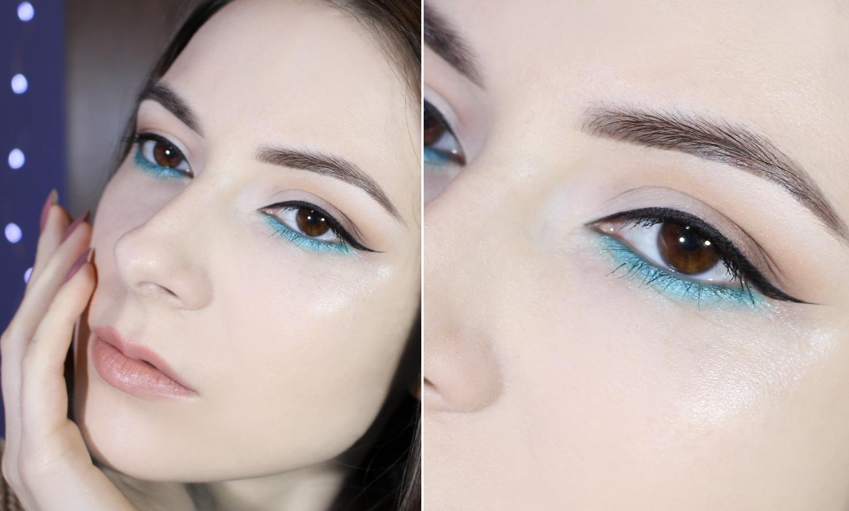 blue makeup tutorial step by step blogger maquiagem passo a passo