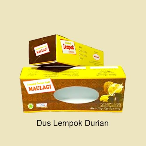Cetak Dus Lempok Durian