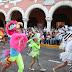 """Pequeños alegran el Centro Histórico en vistoso desfile de """"El Nuevo Carnaval"""""""
