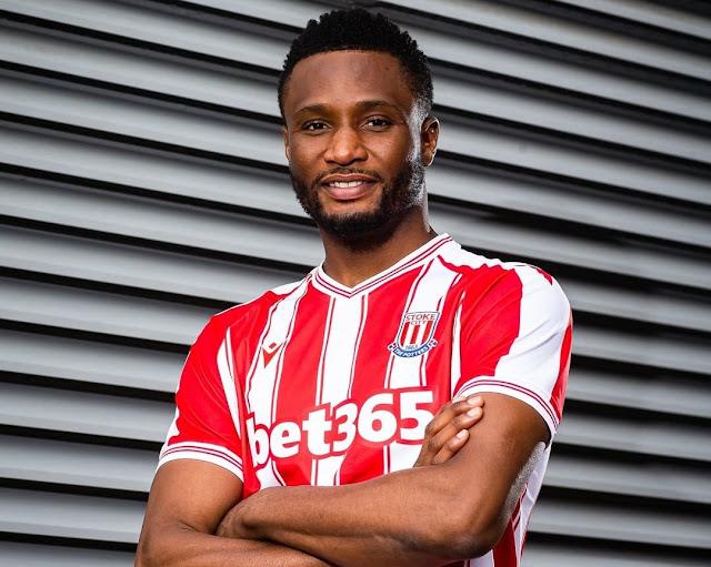 Stoke City have signed former Chelsea midfielder John Mikel Obi.