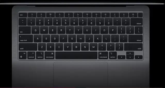 Mac Book Air 202 Apple  أفضل أجهزة أبل بشريحة M1 الجديدة