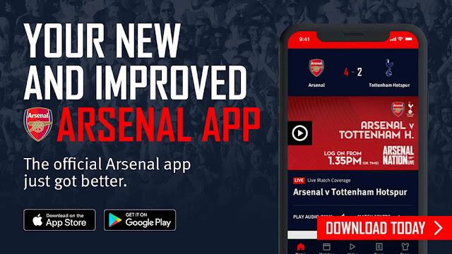 تحميل تطبيق فريق ارسنال الرسمي Arsenal Official App