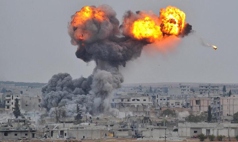 bombardeio na Síria - Foto: NBC