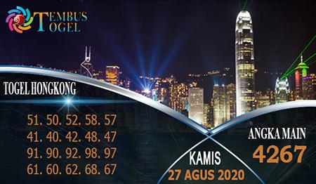 Tembus Togel Hongkong Kamis 27 Agustus 2020
