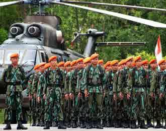 gambar Korps Pasukan Khas TNI Angkatan Udara