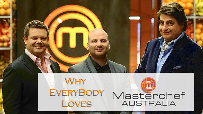 Knive-Wielding Chefs are a good thing: Masterchef Australia #AtoZChallenge