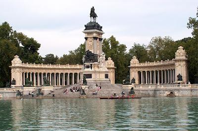 Monumento Alfonso XII, El Retiro