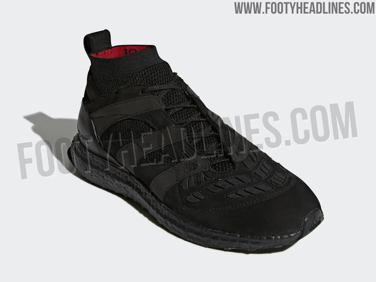 best sneakers 26e83 9d9eb Adidas Predator Accelerator David Beckham Ultra Boost - Triple Black