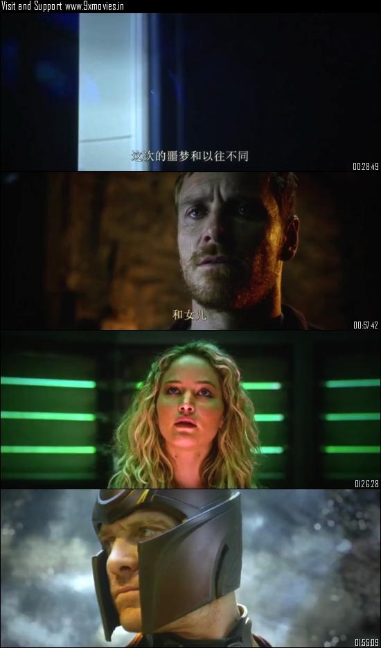 X-MEN Apocalypse 2016 English 480p HDTC