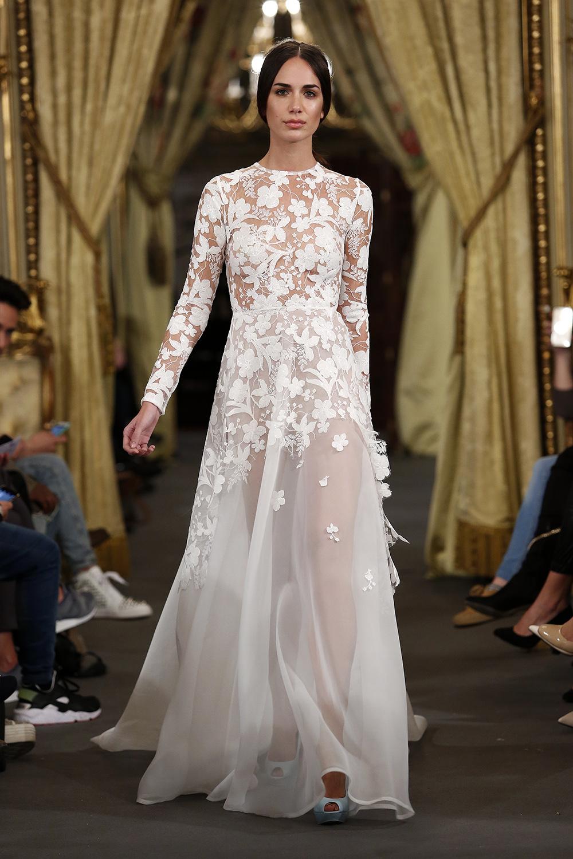 Vestidos de novia alta costura barcelona