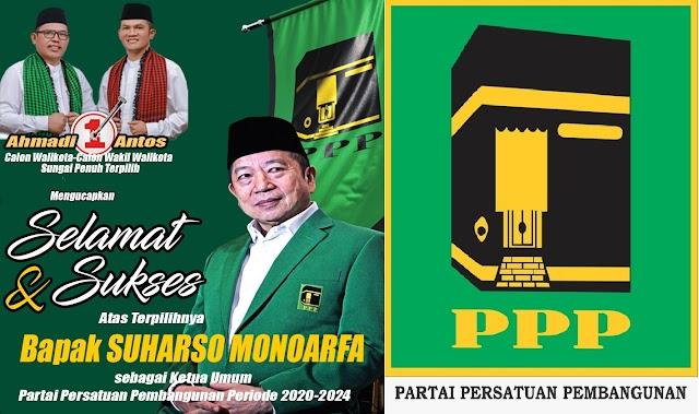 Muktamar ke IX PPP Suharso Monoarfa Terpilih Secara Aklamasi, AZAS Ucapkan Selamat