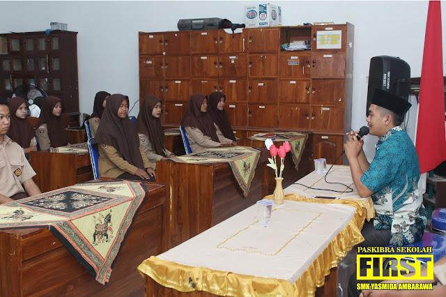 Diklat Paskibra Sekolah SMK Yasmida Ambarawa