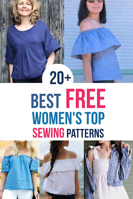 womens top sewing pattern