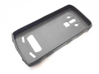 Sarung Silikon Doogee S90 Black Soft Silicone Case