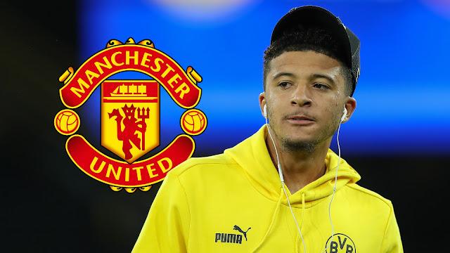 Jadon Sancho Man United