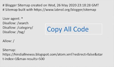 Bogger xml sitemap generator
