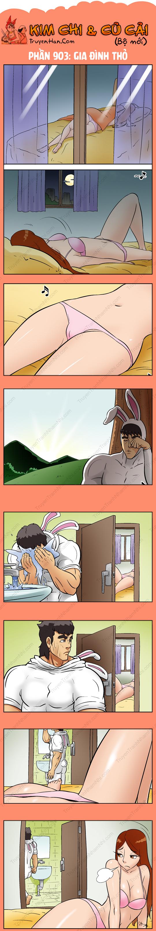 Kim Chi Và Củ Cải Phần 903: Gia đình thỏ