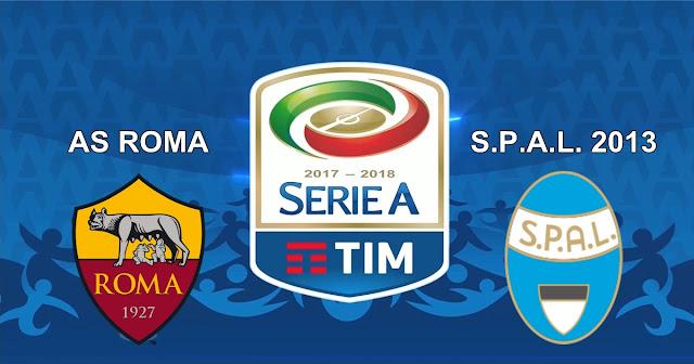 AS Roma vs S.P.A.L. 2 Desember 2017