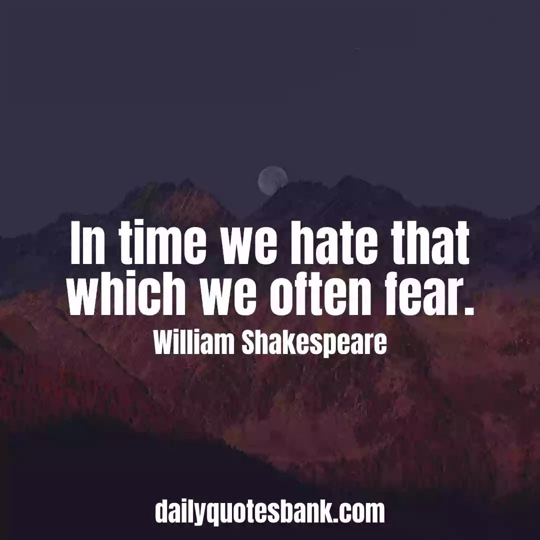 William Shakespeare Quotes About Time