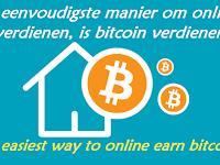 De eenvoudigste manier om online te verdienen, is bitcoin verdienen