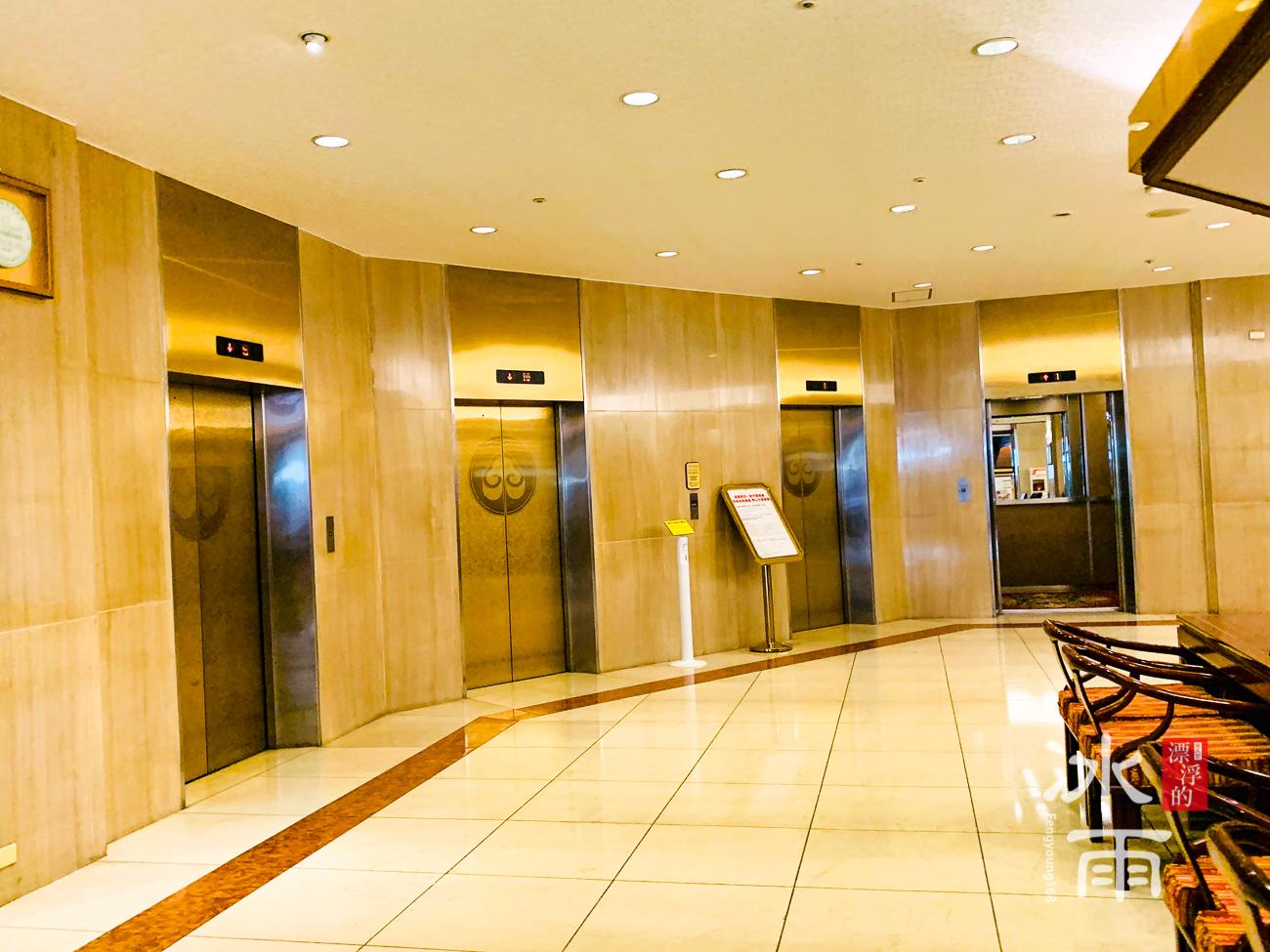 福華大飯店|大廳主要電梯