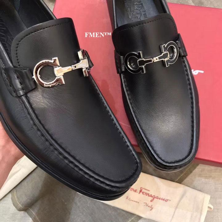 Giày nam Salvatore Ferragamo đế cao siêu cấp GNFE-877