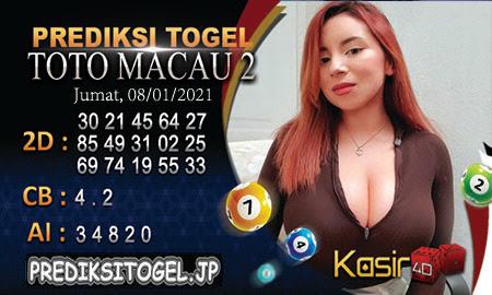 Prediksi Kasir4D Togel Macau Jumat 08 Januari 2021