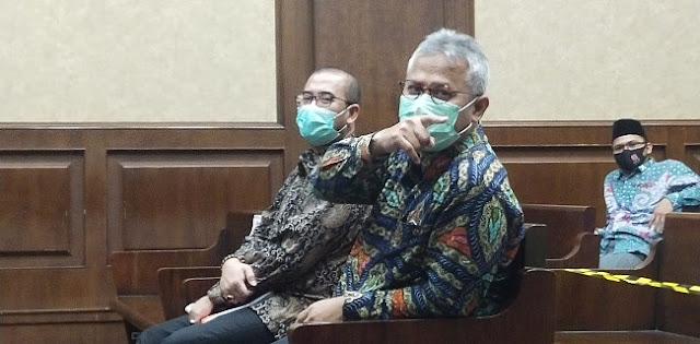 Bersaksi di Sidang Wahyu Setiawan, Ketua KPU Ngaku Tak Tahu soal Gratifikasi Rp500 Juta