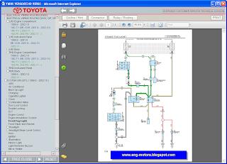 Toyota Yaris Verso service manual