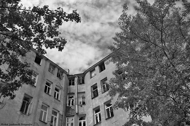 Opuszczona kamienica na Pradze Północ, Warszawa