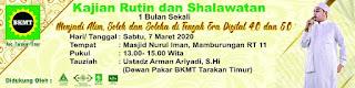 Jadwal Kajian Rutin dan Shalawatan di Masjid Nurul Iman Mamburungan Tarakan Bersama Ustadz Arman Aryadi 20200307 - Kajian Islam Tarakan